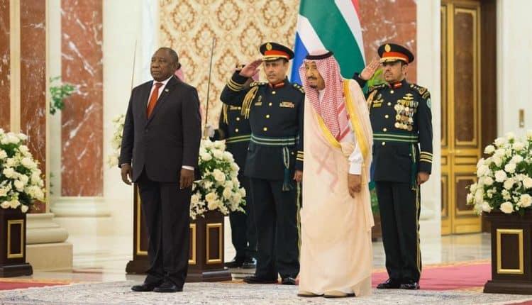 صدور بيان مشترك بين المملكة وجمهورية جنوب أفريقيا
