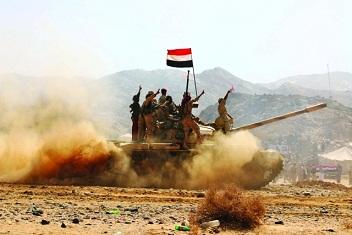 الجيش اليمني يقصف موقعًا للانقلابيين في البيضاء وسط اليمن