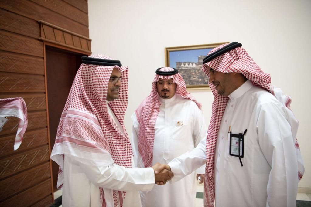 وكيل إمارة الباحة يستقبل وكيل وزارة التعليم لتعليم البنين