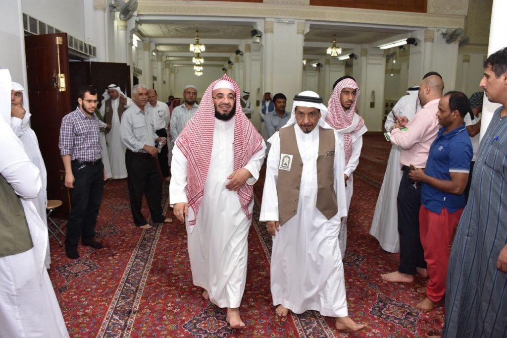 جولات تفقدية يومية للجوامع الكُبْرى ومساجد المنطقة المركزية بالمدينة المنورة
