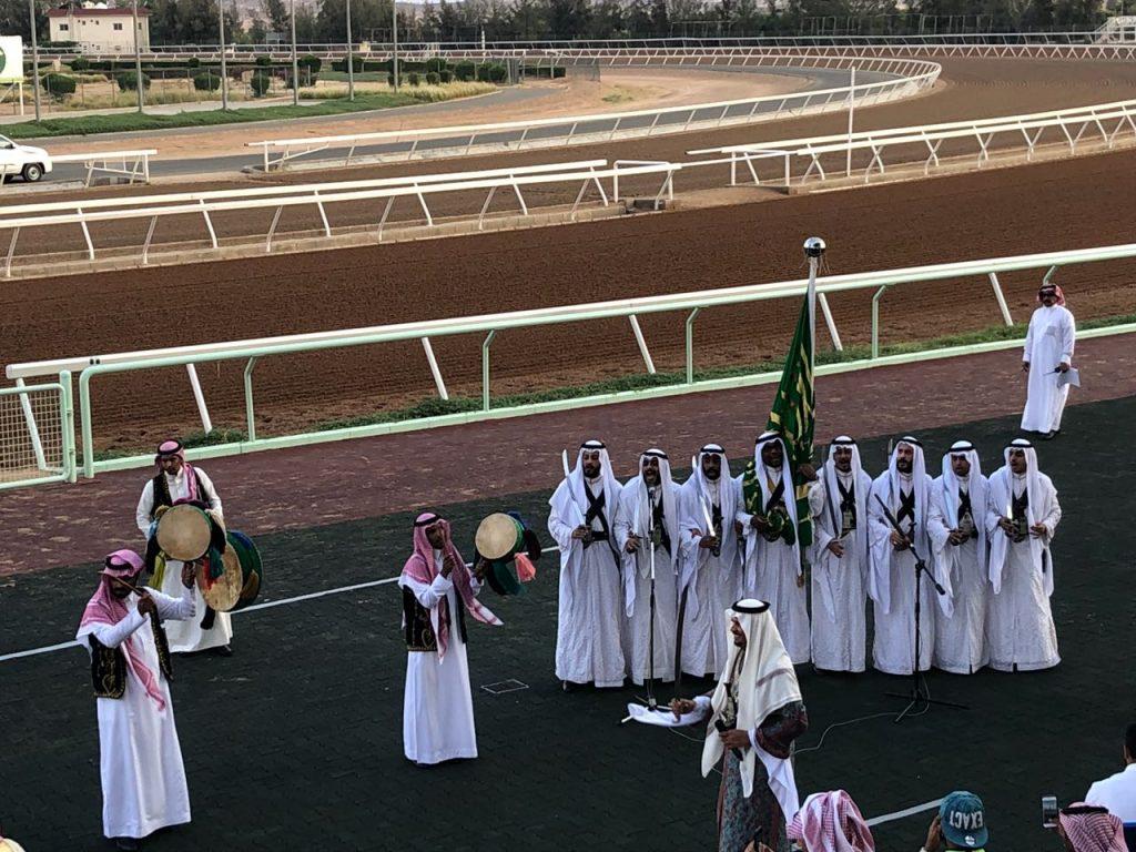 اختتام حفل سباق الفروسية في ميدان الملك خالد بن عبدالعزيز  بالطائف