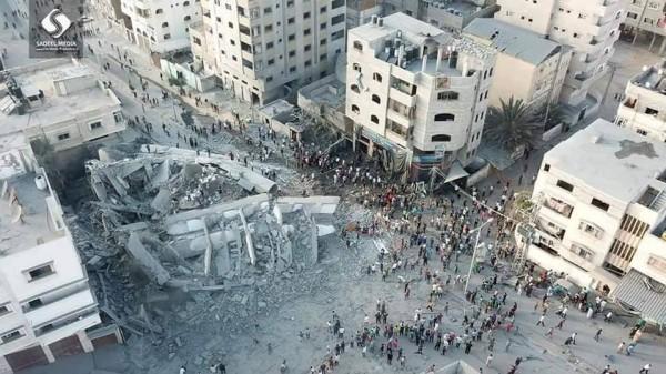 مركز غزة للثقافة والفنون يؤكد أنه سيواصل مسيرته الثقافية رغم تدميره الكلي