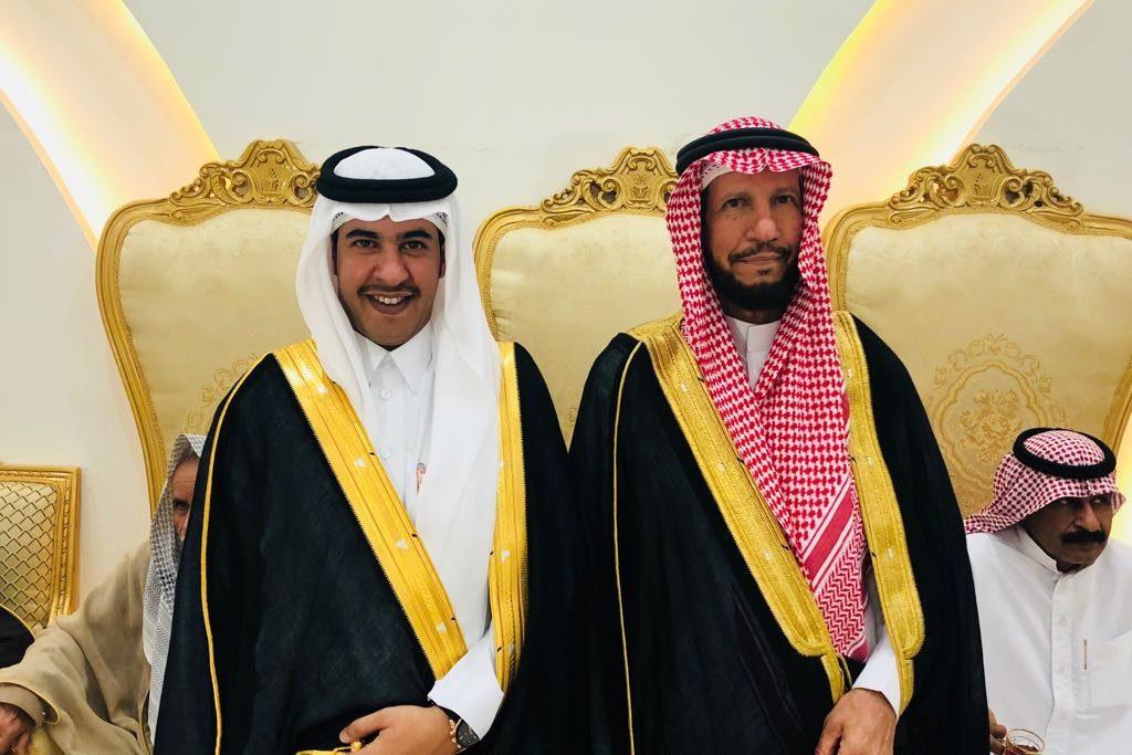 العقيد محمد بن جربان الشدادي يحتفل بزواج ابنه عبدالله