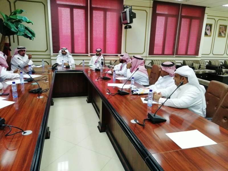 العقيل يترأس اجتماع مديري المكاتب البريدية بمنطقة حائل