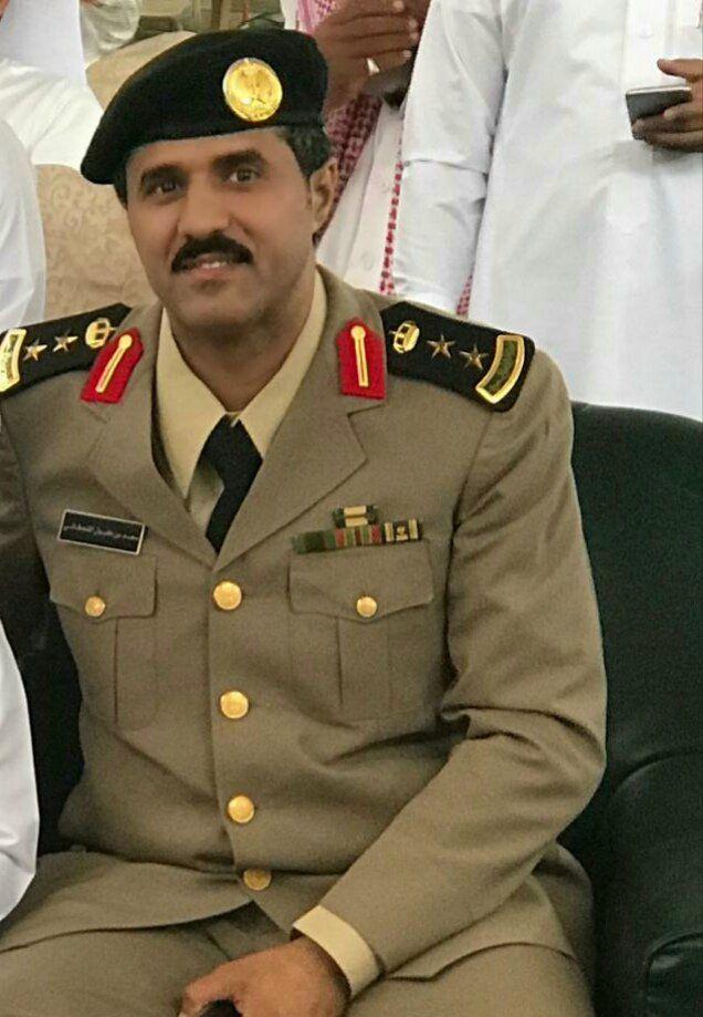 مدير شرطة صامطة يرزق بتوأم