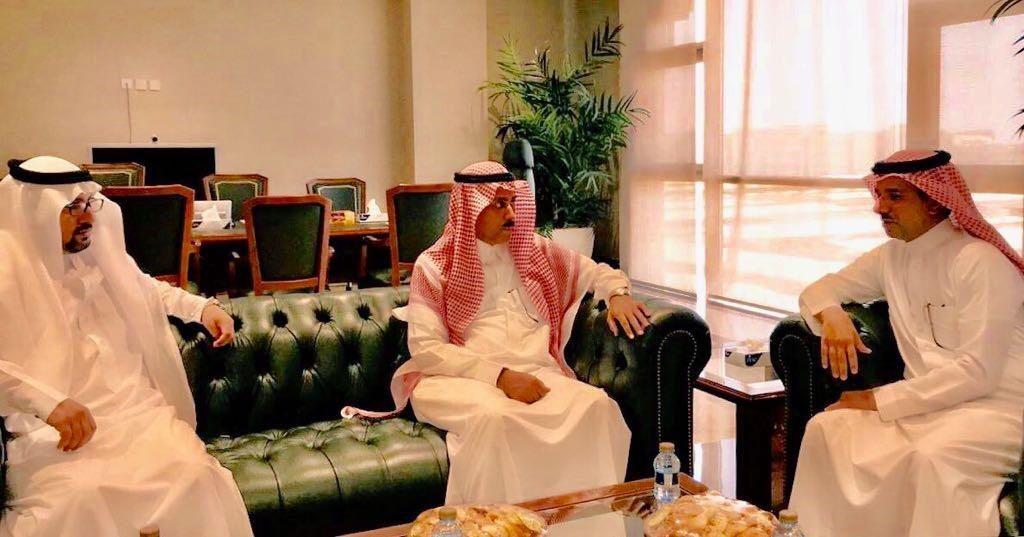 نائب وزير العمل يبحث مع مدير جامعة حائل التعاون في مجالات التدريب وتطوير المهارات