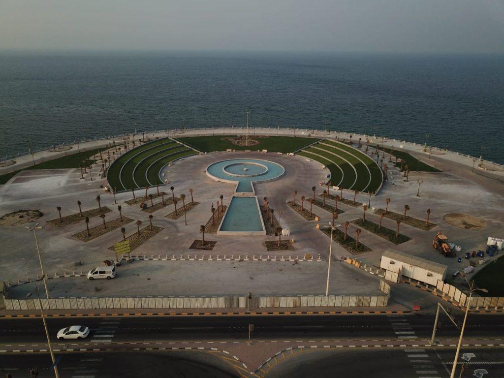 أمين الشرقية يفتتح مشروع بلازا حي الشاطئ بالواجهة البحرية بالدمام