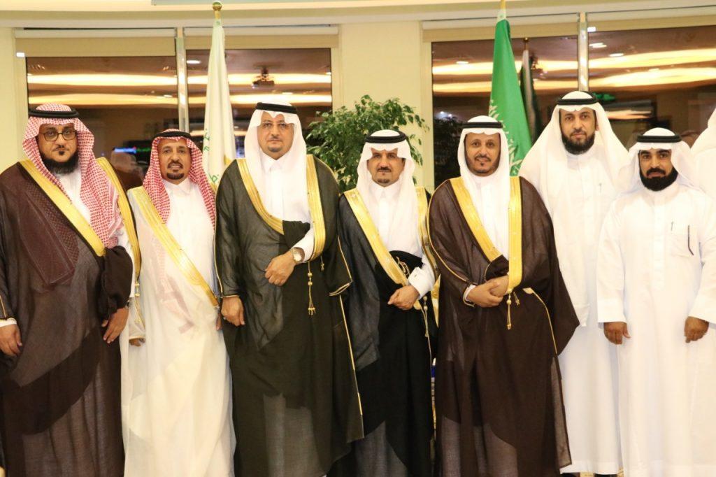 غرفة حفرالباطن تحتفي بمدير الجامعة الدكتور محمد بن عبدالله القحطاني