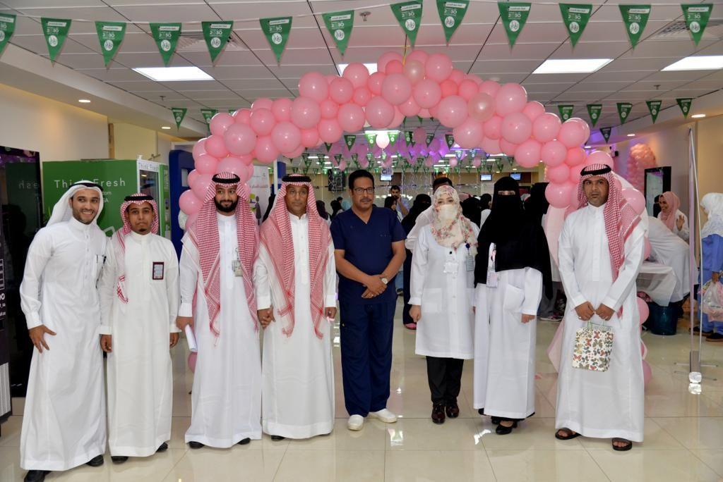 صحة جدة تواصل حملة سرطان الثدي بمستشفى المساعدية و مركز صحي الشراع