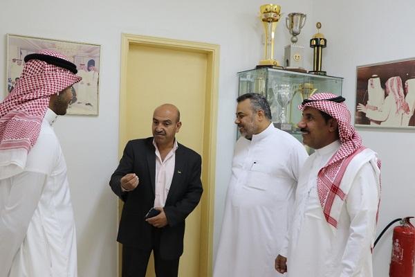 أمين اتحاد الطاولة بغرب آسيا يزور الاتحاد السعودي لكرة الطاولة