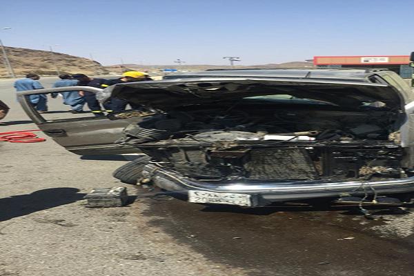 إصابة شخصين في حادث سير بنخال الباحة