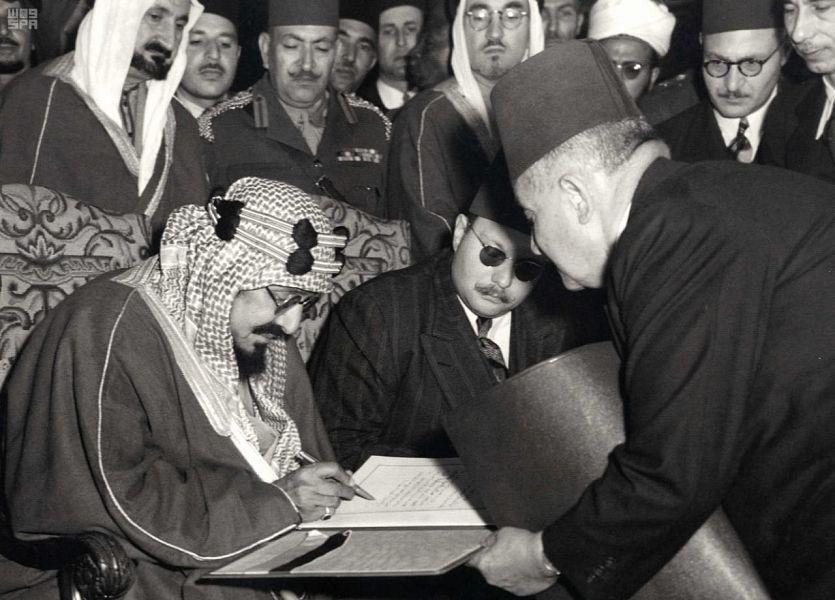 تفاصيل أول زيارة ملكية سعودية لمصر بقيادة الملك عبدالعزيز
