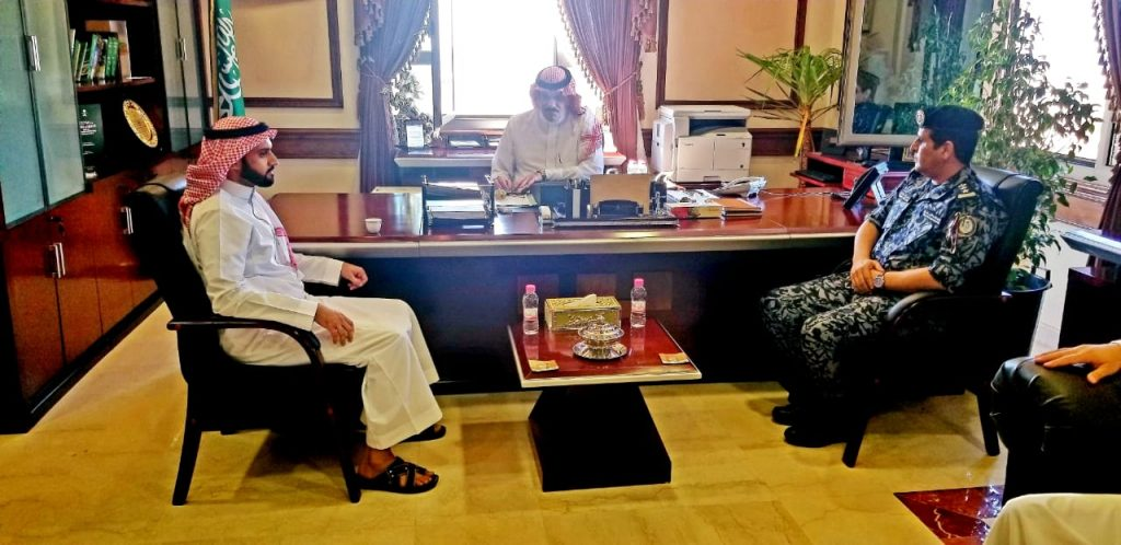محافظ أملج يُستقبل وكيل وزارة الصحة
