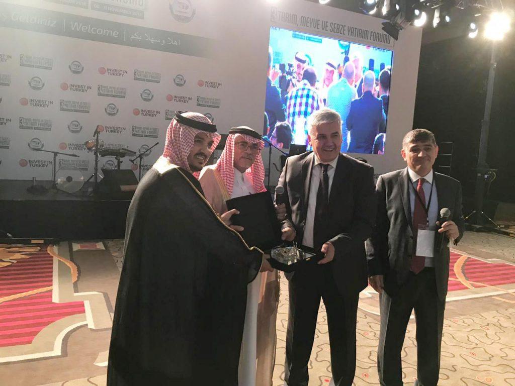 حضور سعودي كبير في الملتقى الاستثماري الثالث للخضروات والفواكه بأنطاليا