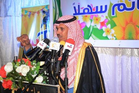 """بالصور.. قبائل بني رشيد تحتفي بعميد الشعراء """"ناصر المرسال"""""""