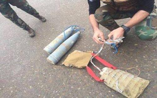 الأمن العراقي يلقي القبض انتحاري بعجلة مفخخة بالفلوجة