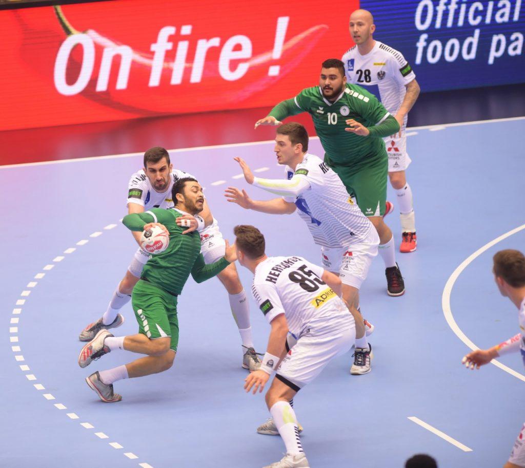 أخضر اليد يخسر مواجهة النمسا في كأس العالم ويقابل النرويج اليوم السبت
