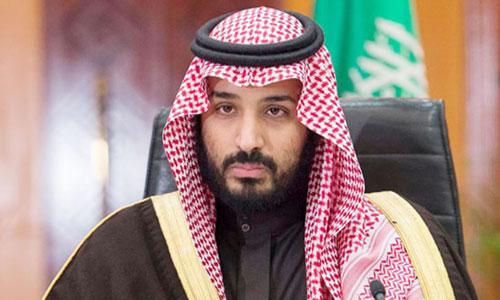 ولي العهد يهنئ رئيس الوزراء البحريني بمناسبة خروجه من المستشفى بعد شفائه