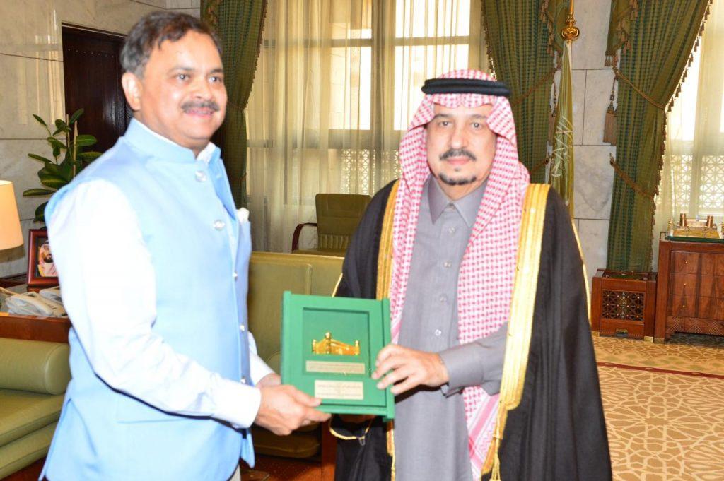 أمير الرياض يستقبل سفير جمهورية الهند لدى المملكة