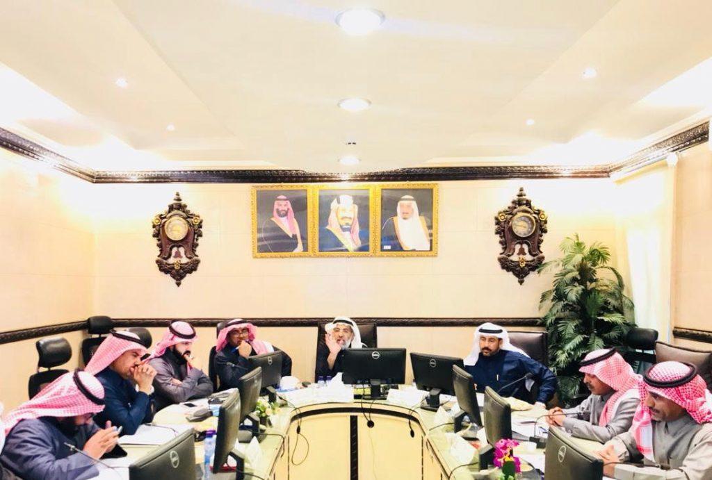المجلس البلدي لأمانة منطقة حائل يعقد إجتماعه الدوري