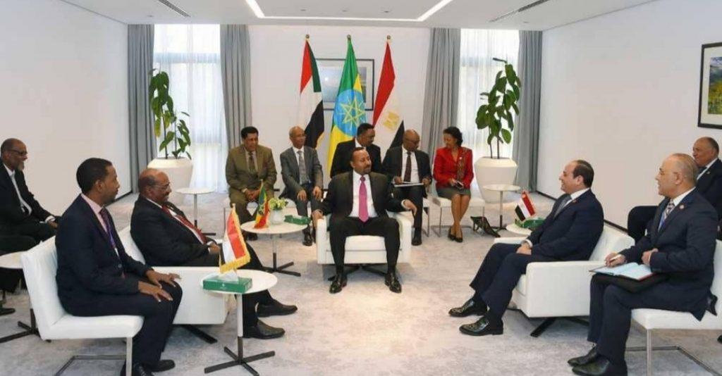 تفاصيل قمة مصر والسودان وإثيوبيا بشأن سد النهضة