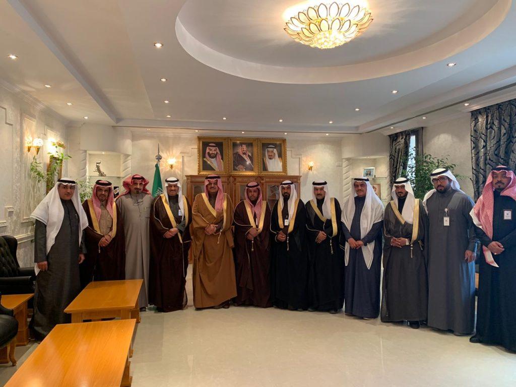محافظ حفر الباطن يستقبل مدير عام فرع وزارة العمل والتنمية الاجتماعية بالمنطقة الشرقية