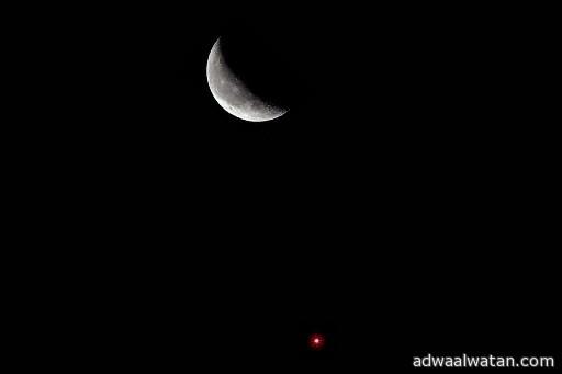 فلكية جده. انضام القمر وقلب العقرب فجر الثلاثاء المقبل