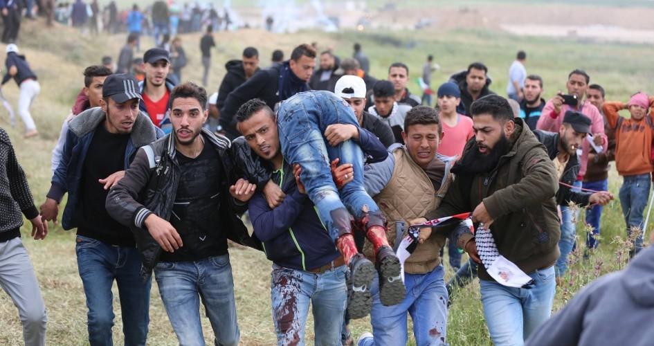 إرتفاع عدد الشهداء في غزة إلى 16 شهيداً ومئات الجرحى
