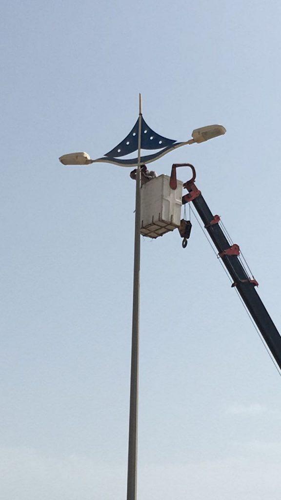 بلدية رأس تنورة تنهي المرحلة الأولى من مشروع تطوير  إنارة كورنيش المحافظة
