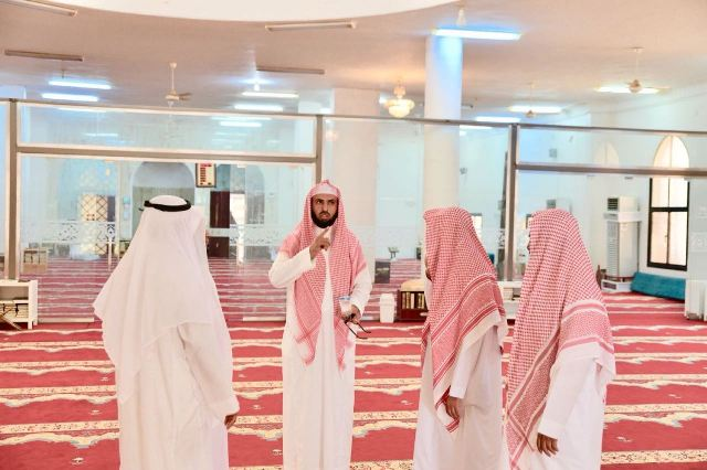 تجهيز المساجد على الطرق المؤدية لمكة والمشاعر المقدسة