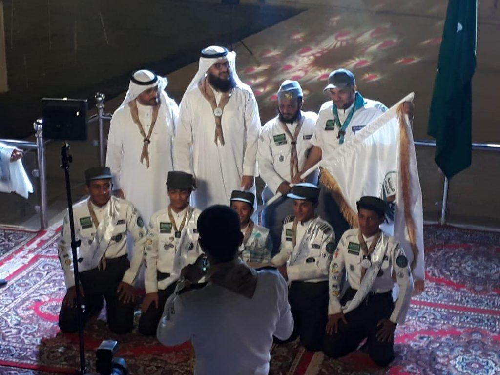 كشافة تعليم الرياض تحصد المستوى الذهبي في مهرجانات التعليم للتربية الكشفية