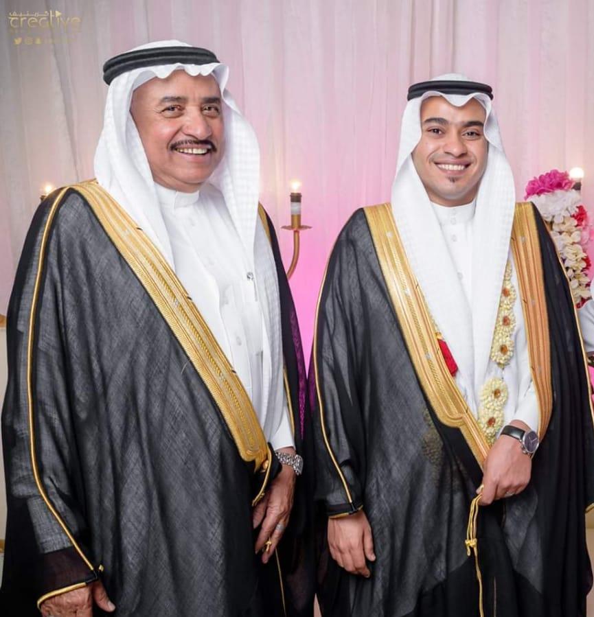 عضوالشورى المهندس أحمد الأسود  يحتفي بزواج إبنه عبدالله