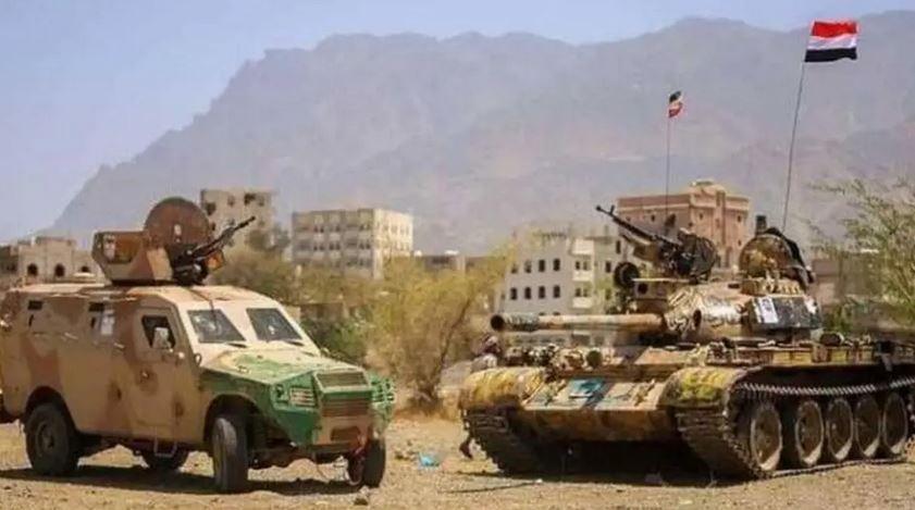 تعز.. الجيش اليمني يستعيد مواقع جديدة في جبهة البرح