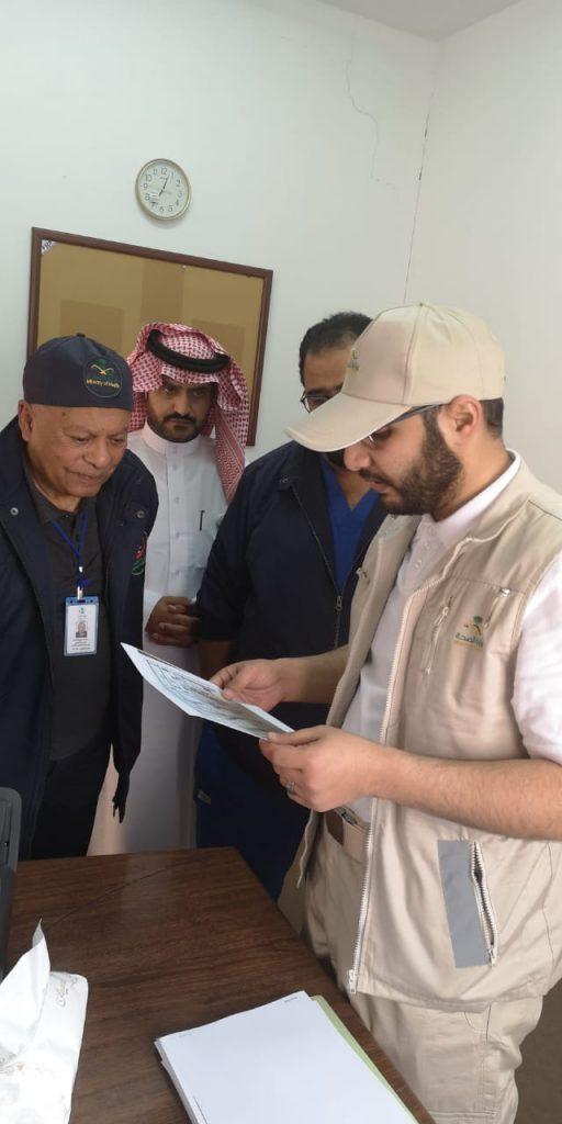 مدير عام الشؤون الصحية بمنطقة الباحة يتفقد المراكز الإسعافية بالباحة