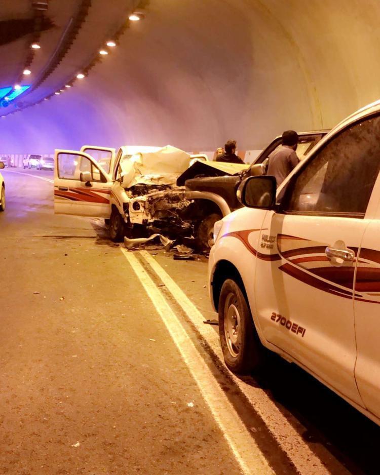 3 إصابات  في حادث سير بعقبة الملك فهد بالباحة
