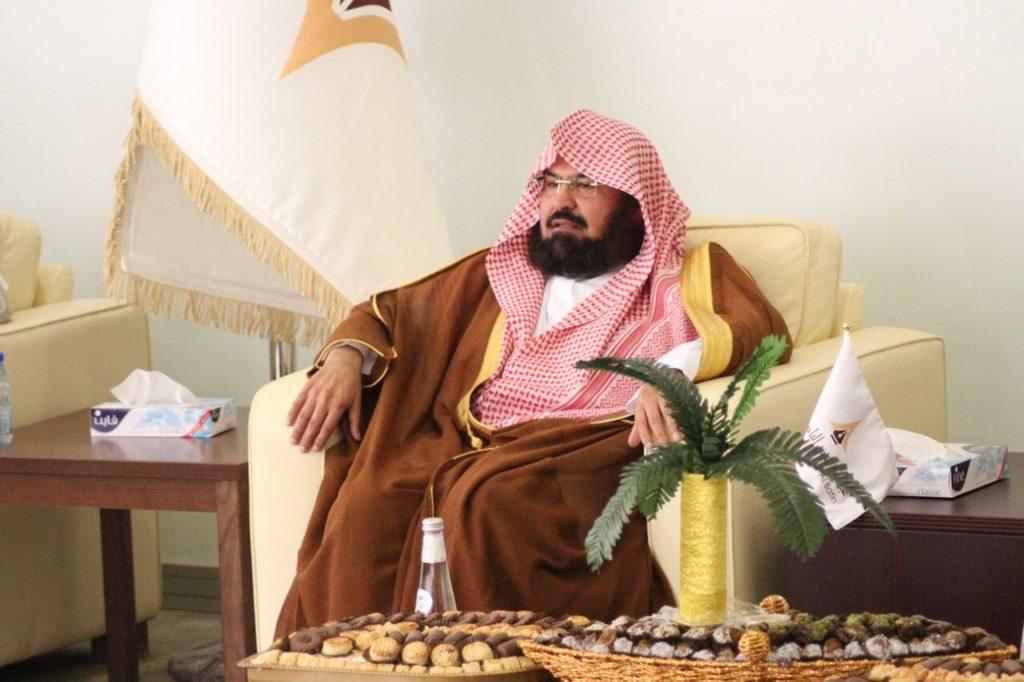 الشيخ السديس يؤكد في كلمته بجامعة حفرالباطن على لزوم منهج الوسطية والاعتدال