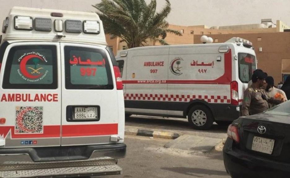 إصابة 8 طالبات إثر حريق الكلية التقنية للبنات بالقصيم