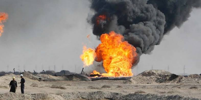 """مصرع وإصابة """"١١"""" شخصاً في انفجار خط أنابيب للغاز بإيران"""